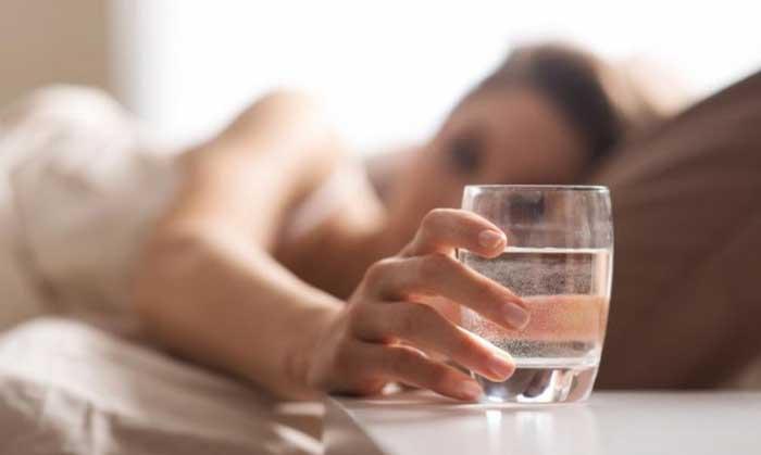 не пийте вода