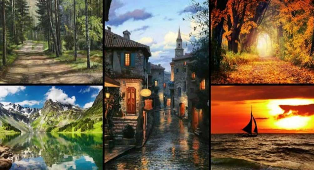 Изберете един пейзаж